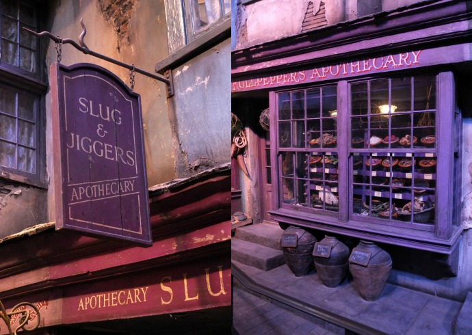 Diagon Alley Harry POtter studio