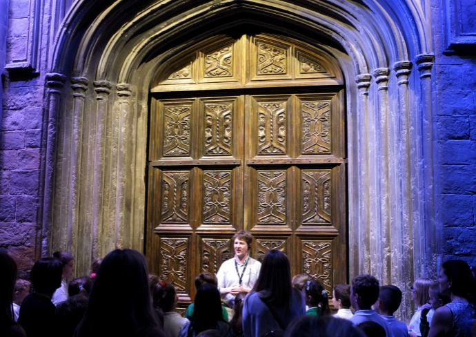 Doors to the Hogwarts Great hall
