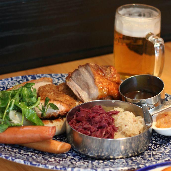 Munich Tasting Platter $39 pp