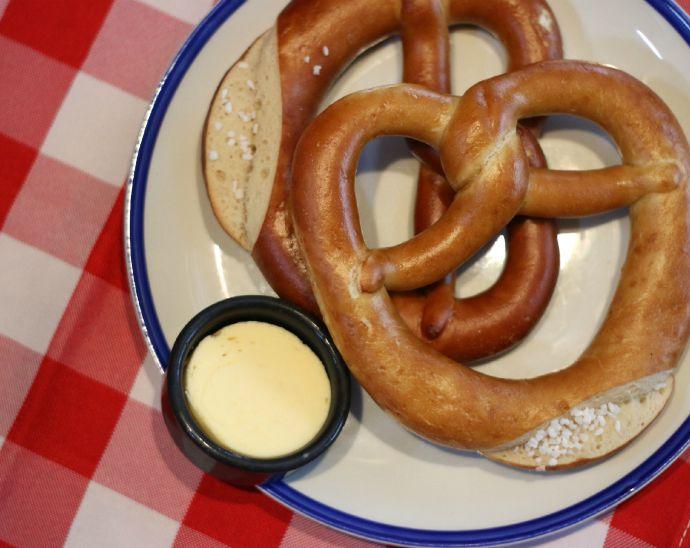 german style pretzels