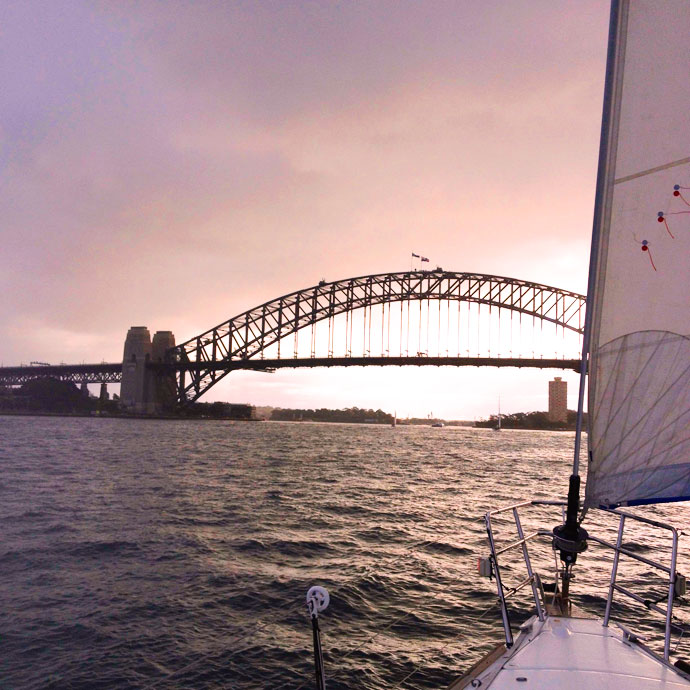 Sydney harbour sail