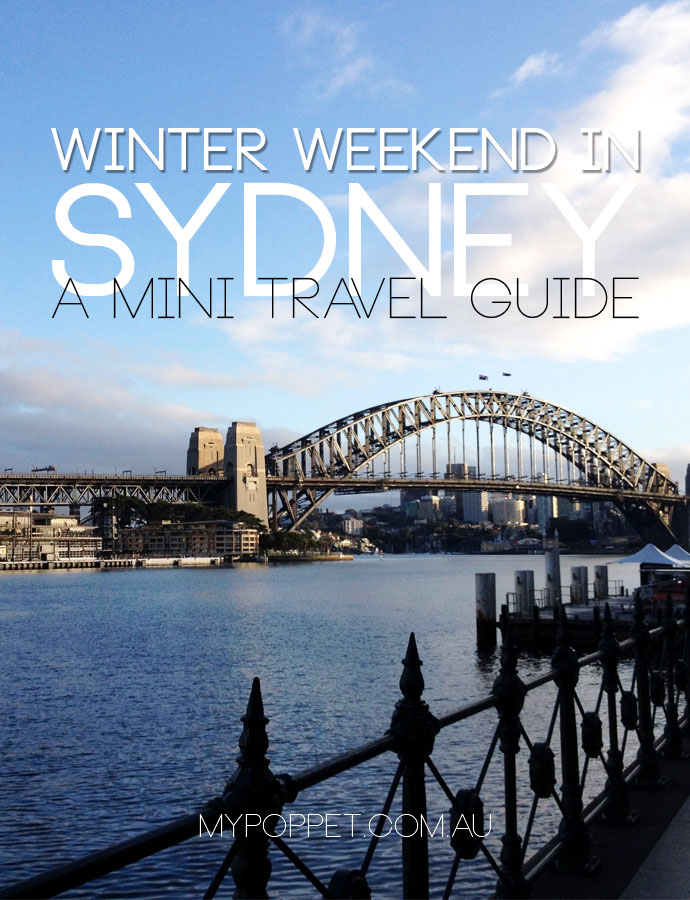 A travel Guide - spend a weekend in Sydney
