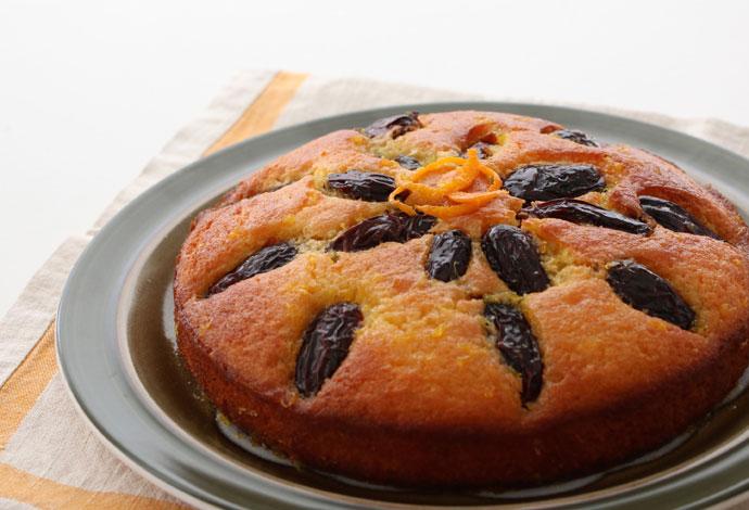 Orange and date cake recipe www.mypoppet.com.au/living