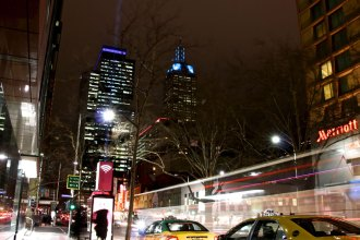 Telstra AIr Melbourne CBD wifi hotspot