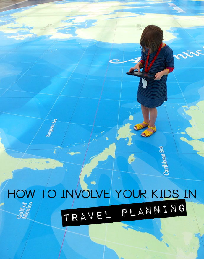 How to involve your kids in travel planning