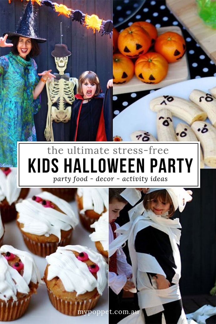 Halloween party ideas for kids - mypoppet.com.au