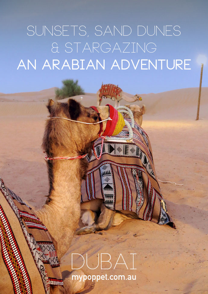 My Poppet visits the Arabian Desert in dubai with Arabian Adventures