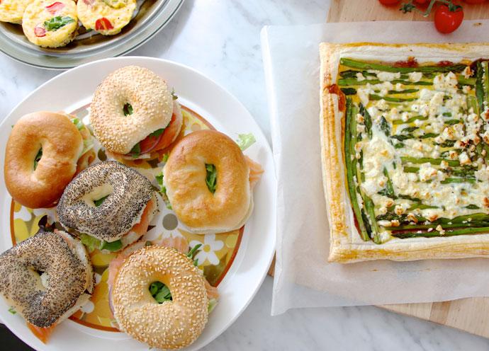 buffet brunch idea
