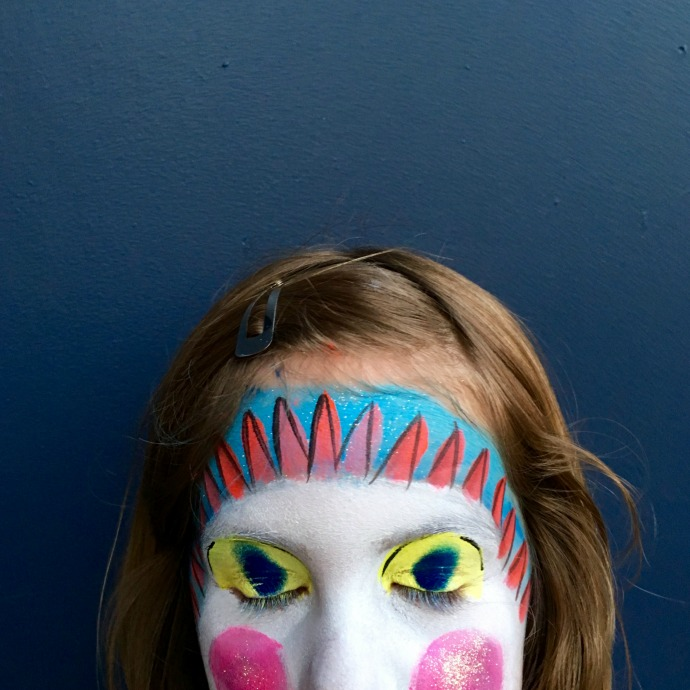 luna park face paint