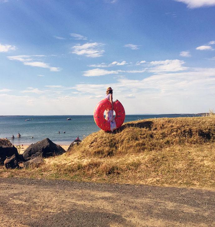beach doughnut maddie stamer