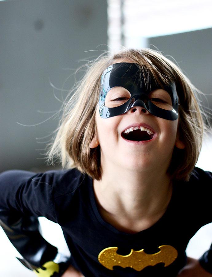 Batgirl superhero costume