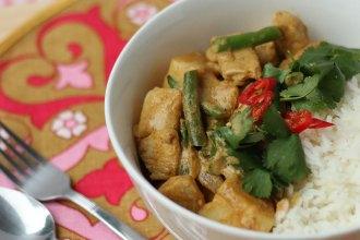 Malaysian Coconut Chicken Curry Rice Recipe - mypoppet.com.au