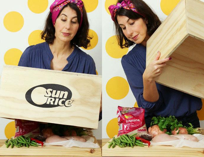 Sunrice Recipe Box Challenge mypoppet.com.au
