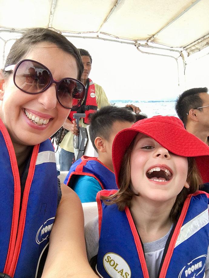 Boat cruise, Island hopping tour KK Sabah, Borneo