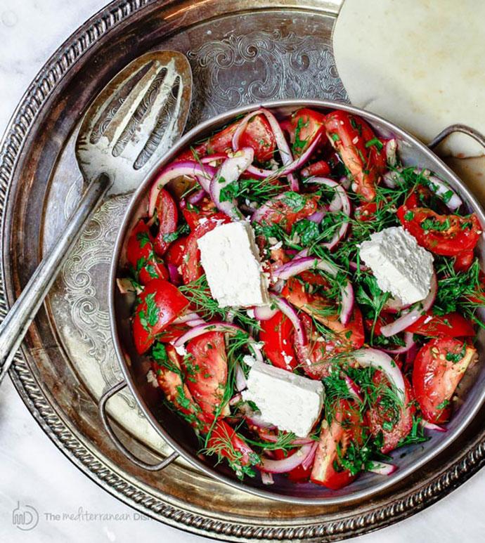 classic tomato salad recipe