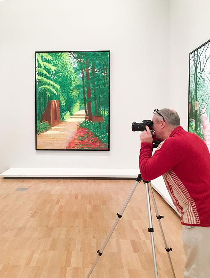 David Hockney NGV artist