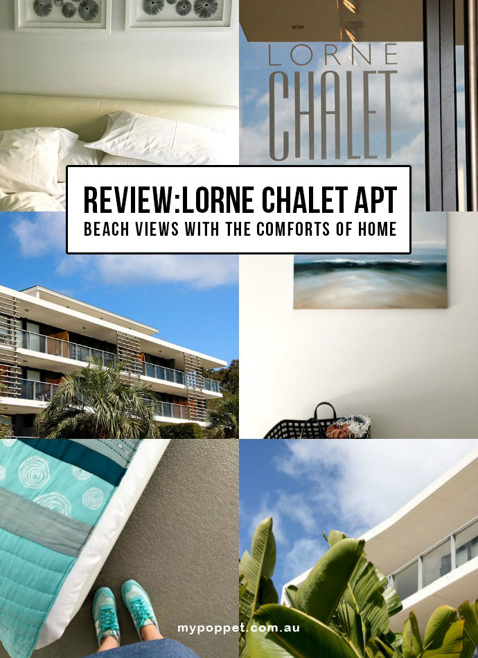 Apartment Accomodation Review - where to stay Lorne Great ocean road Victoria Australia - mypoppet.com.au