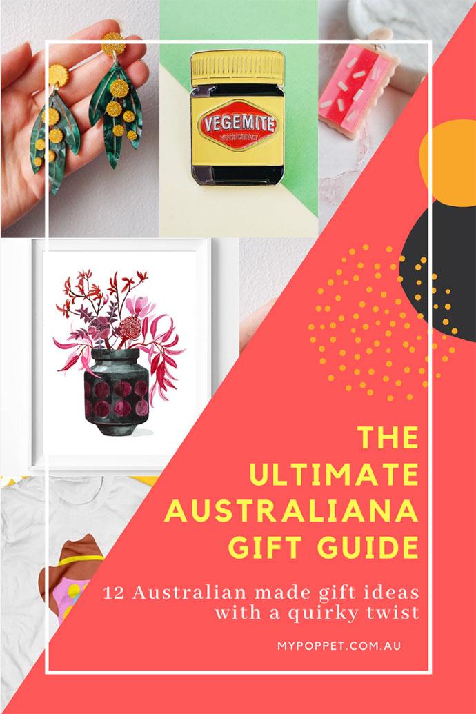 Australiana gift guide - Australian made christmas gift guide