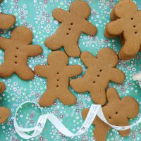 Quick & Easy Christmas Gingerbread Recipe - Egg Free