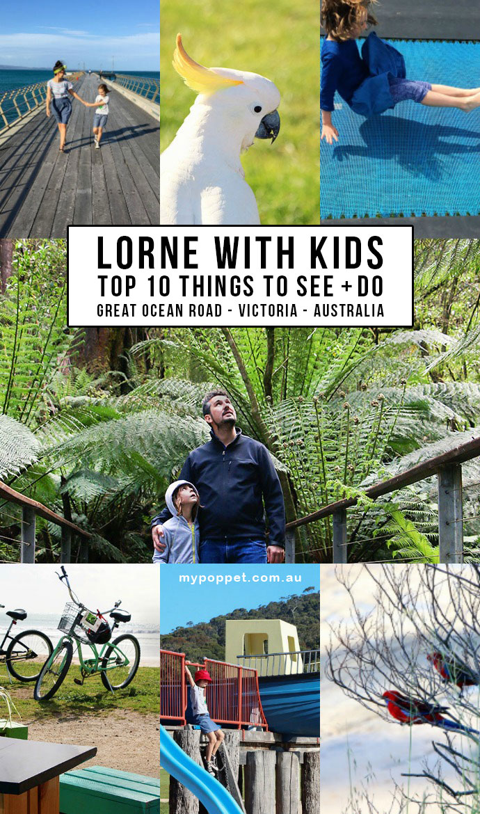 Top 10 Things to see and do in Lorne with Kids, Victoria Australia