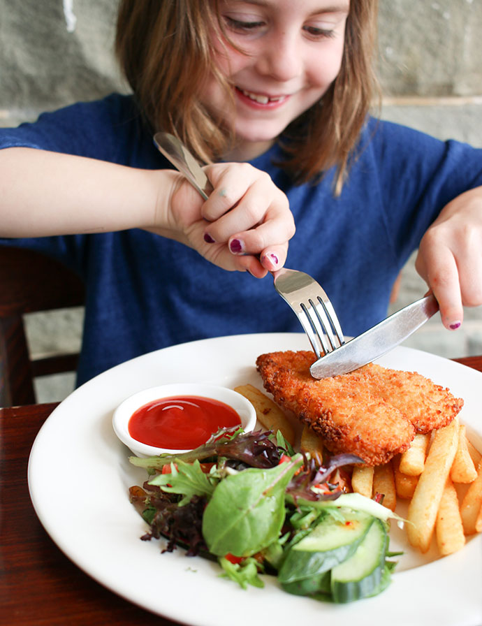 Kids meal - Grand Pacific Hotel Lorne