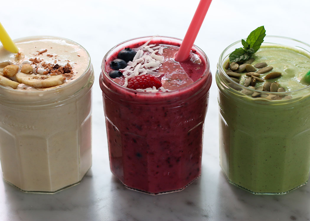 3 Plant Based Smoothies the whole family will LOVE! | My Poppet Living