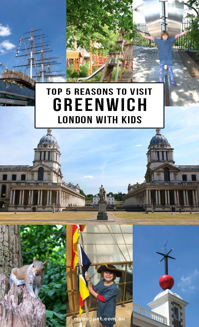 Travel with Kids LONDON - Top 5 reasons to visit Greenwich - Travel Guide mypoppet.com.au/living