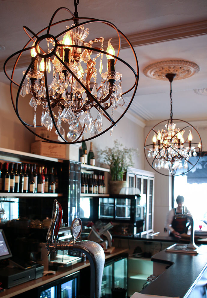House of Wine and food Front bar - prort melbourne