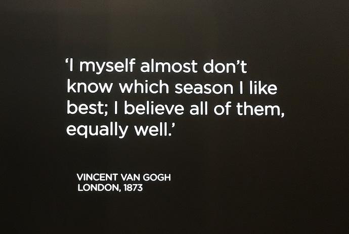 quote - Vincent Van Gogh