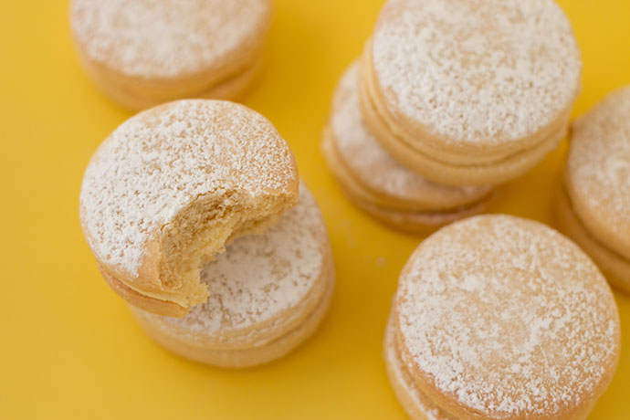 Delicious lemon butter cookies - recipe