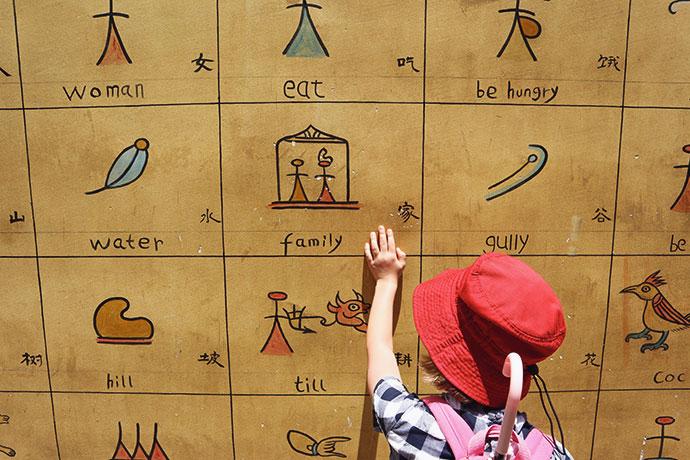 Naxi (Nakhi) Pictographs Lijiang China - mypoppet.com.au