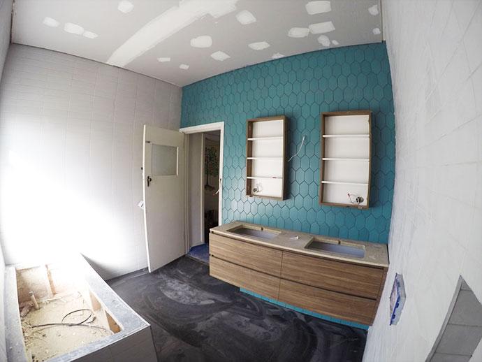 Bathroom Renovation - Tiling mypoppet.com.au
