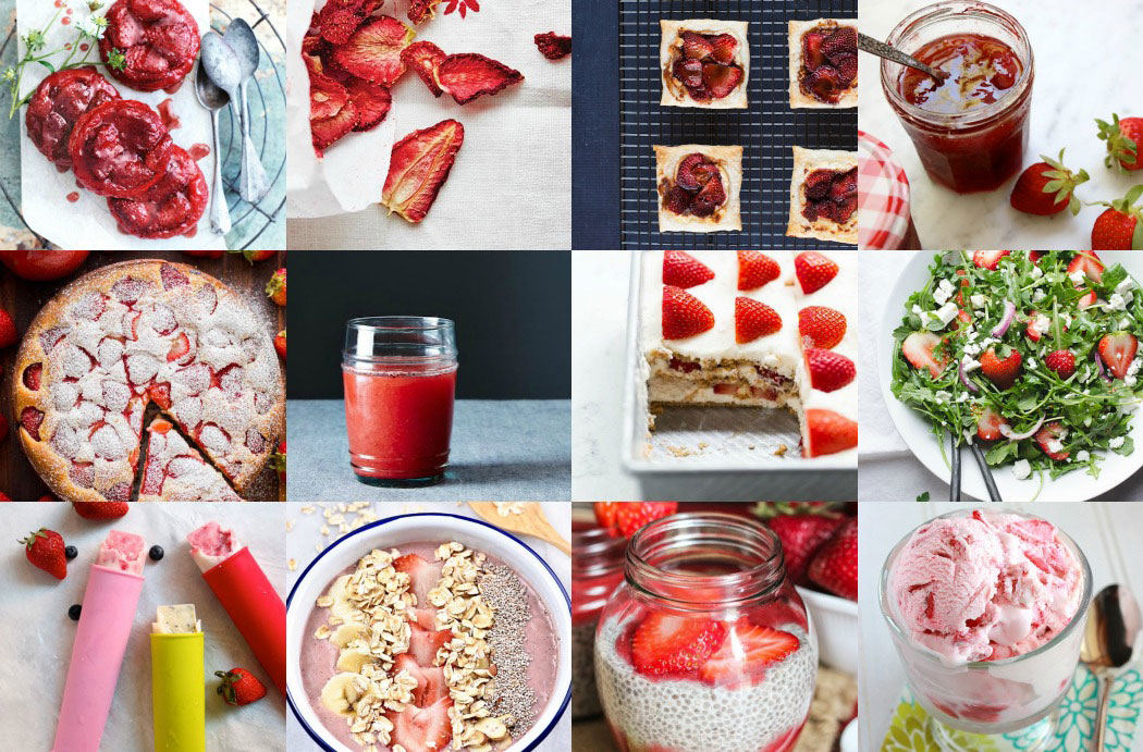 12 Tasty Recipes to Enjoy this Strawberry Season