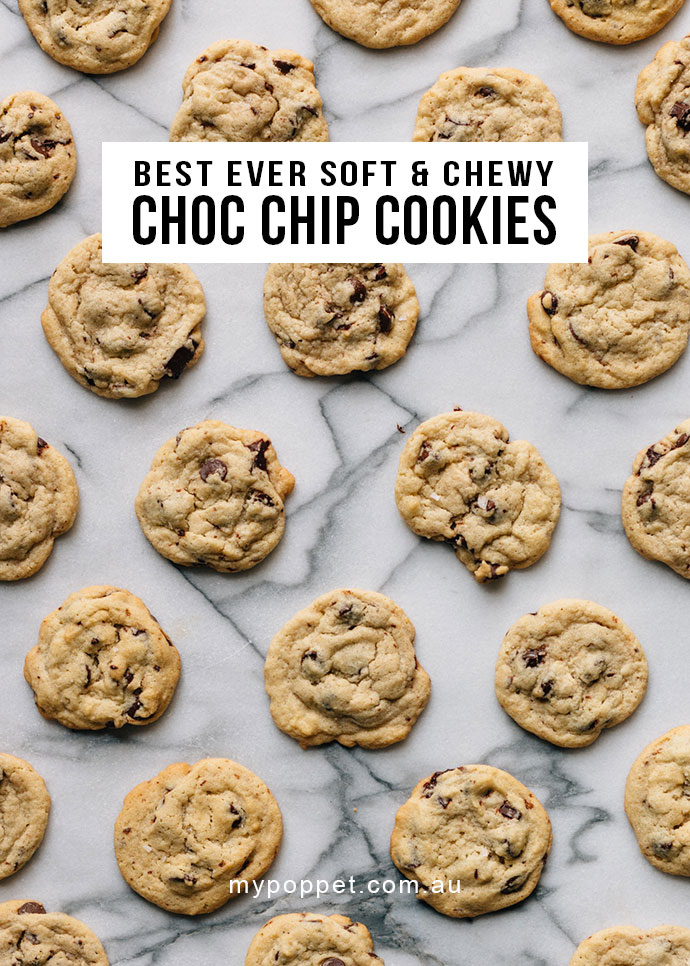 Recipe: Best ever Choc Chip Cookies - mypoppet.com.au