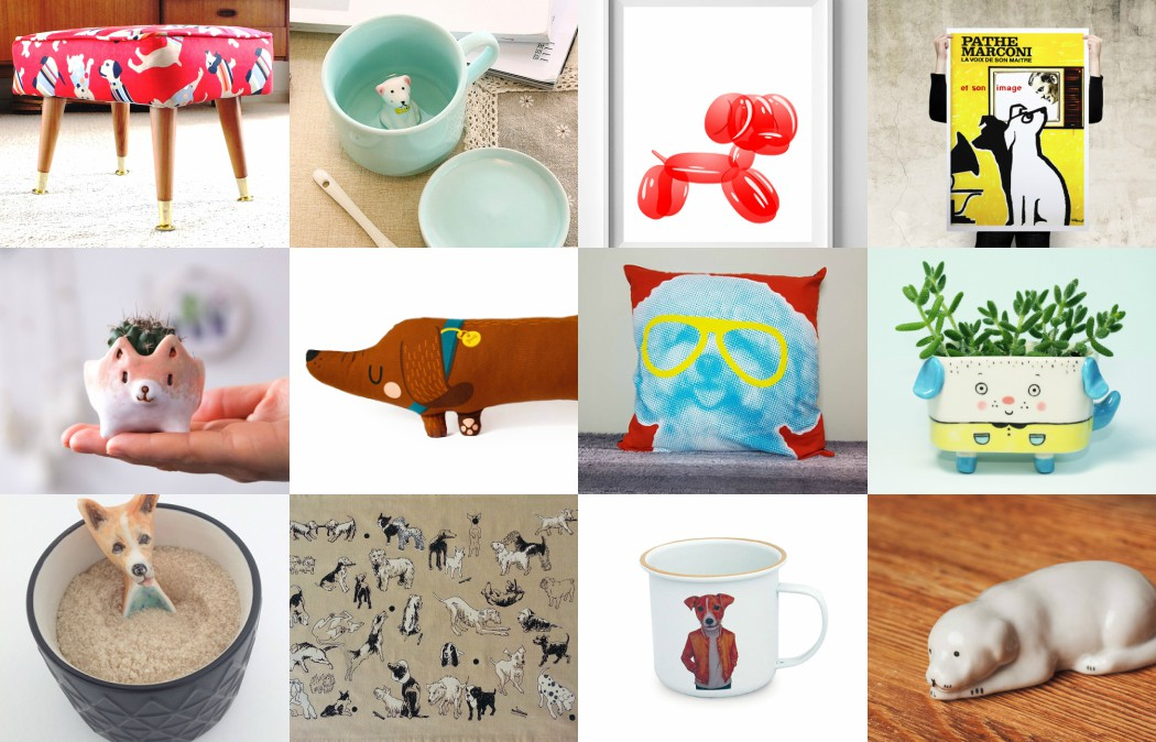 Paw-some Dog Themed Decor for your Home this Year of the Dog