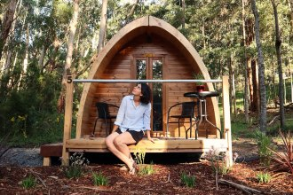 Glamping Pod - Luxury camping in the Yarra Valley Victoria - mypoppet.com.au