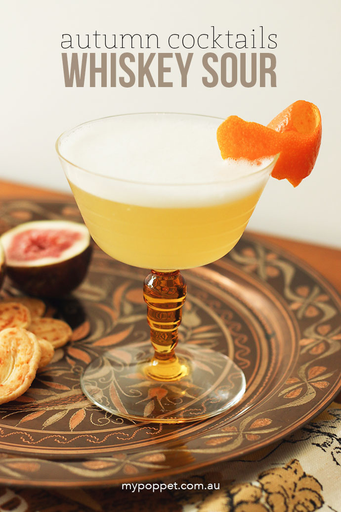 Whiskey Sour Recipe - Mypoppet.com.au