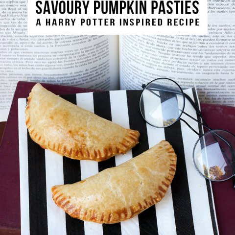 Savoury Pumpkin Pasties – A Harry Potter Inspired Recipe