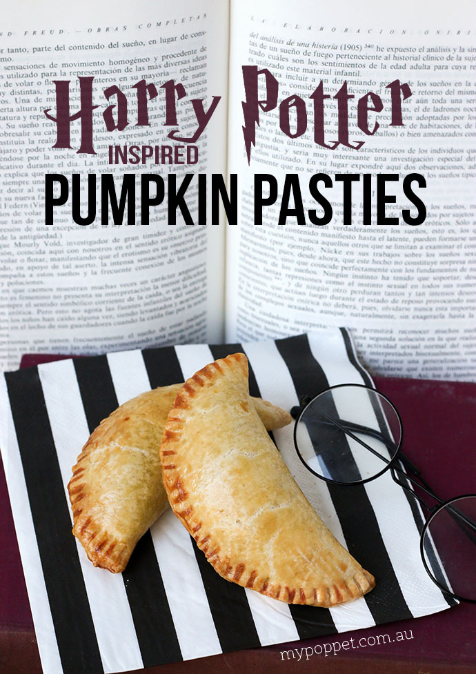 Harry Potter Savoury Pumpkin Pasties Recipe - mypoppet.com.au