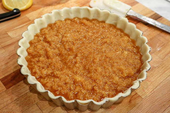 4 ingredient Treacle tart recipe - mypoppet.com.au