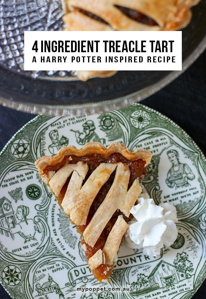 Harry Potter Recipe - Treacle Tart