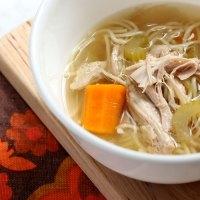 No Fuss Slow Cooker Chicken Noodle Soup