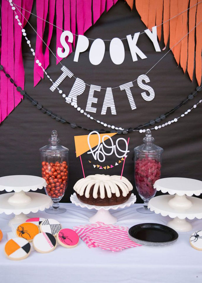 13 Modern Halloween Party Decoration Ideas