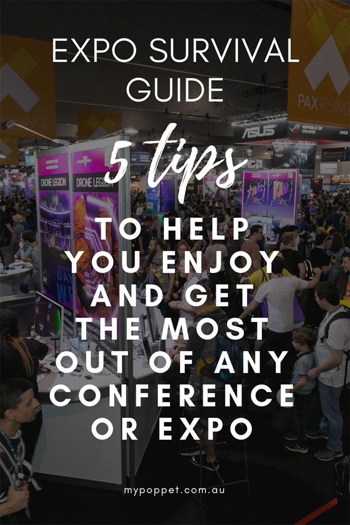 Expo survival guide - mypoppet.com.au