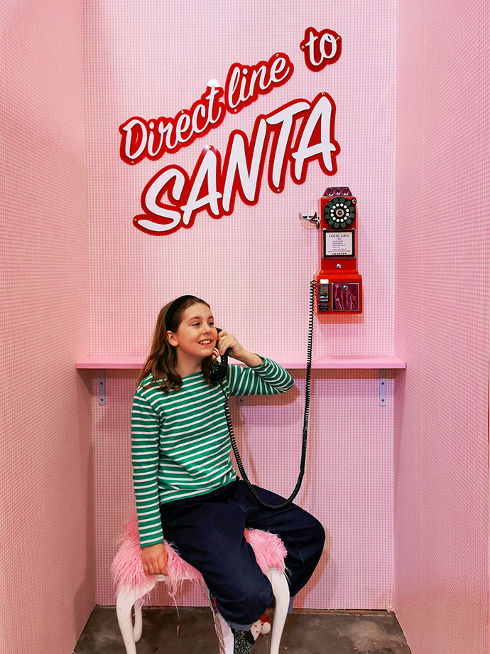 Direct Line to Santa Christmasland Melbourne
