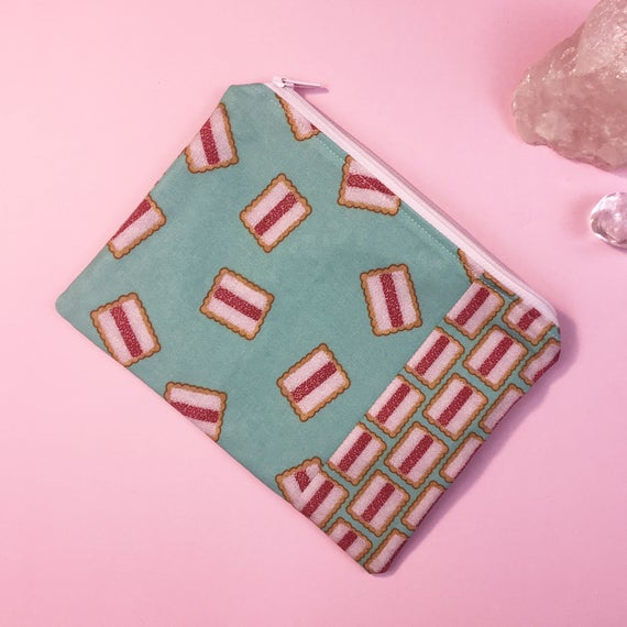Iced Vovo biscuit Zip Pouch