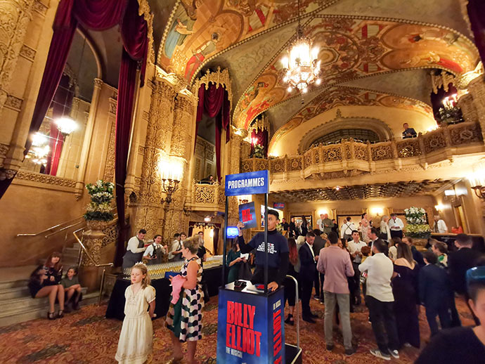 Regent Theatre Melbourne foyer