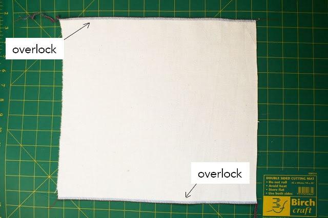 How to make a fabric pencil roll - mypoppet.com.au