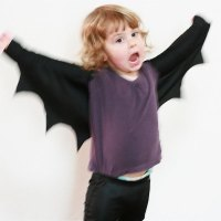 How to make Easy Bat Wings for Halloween or Dress Ups