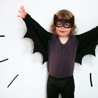 How to make Bat Wings for Halloween Costumes